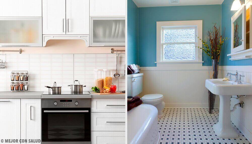 Σπιτικά τεχνάσματα για μια κουζίνα και ένα μπάνιο χωρίς κακοσμίες