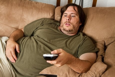 παχυσαρκία, υπέρβαρος άντρας- το αίσθημα παλμών