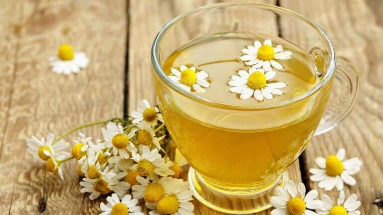 χαμομήλι, τσάι από τα αφεψήματα για να κοιμηθείτε καλύτερα