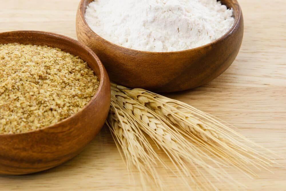 Φυσικό, εκπληκτικό ανορθωτικό αποτέλεσμα - σιτάρι και αλεύρι