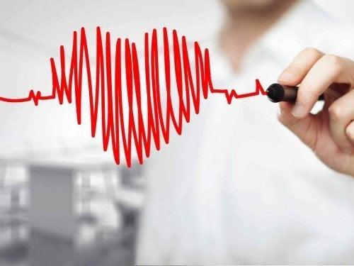 ζωγραφισμένη καρδιά