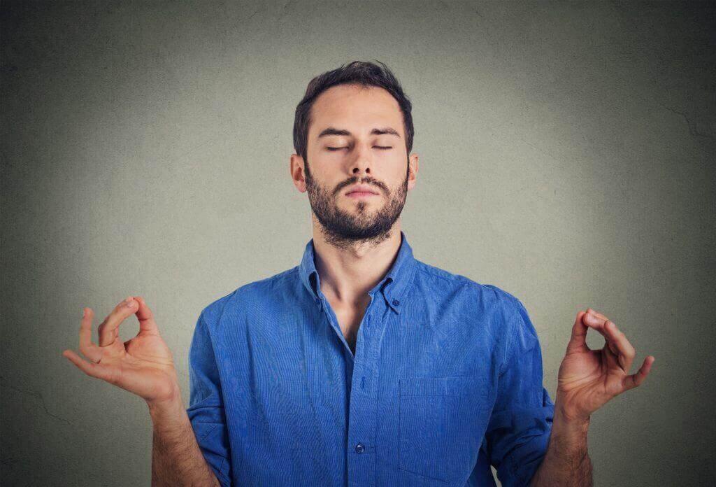 Συναισθηματική εξάντληση - Άνδρας διαλογίζεται