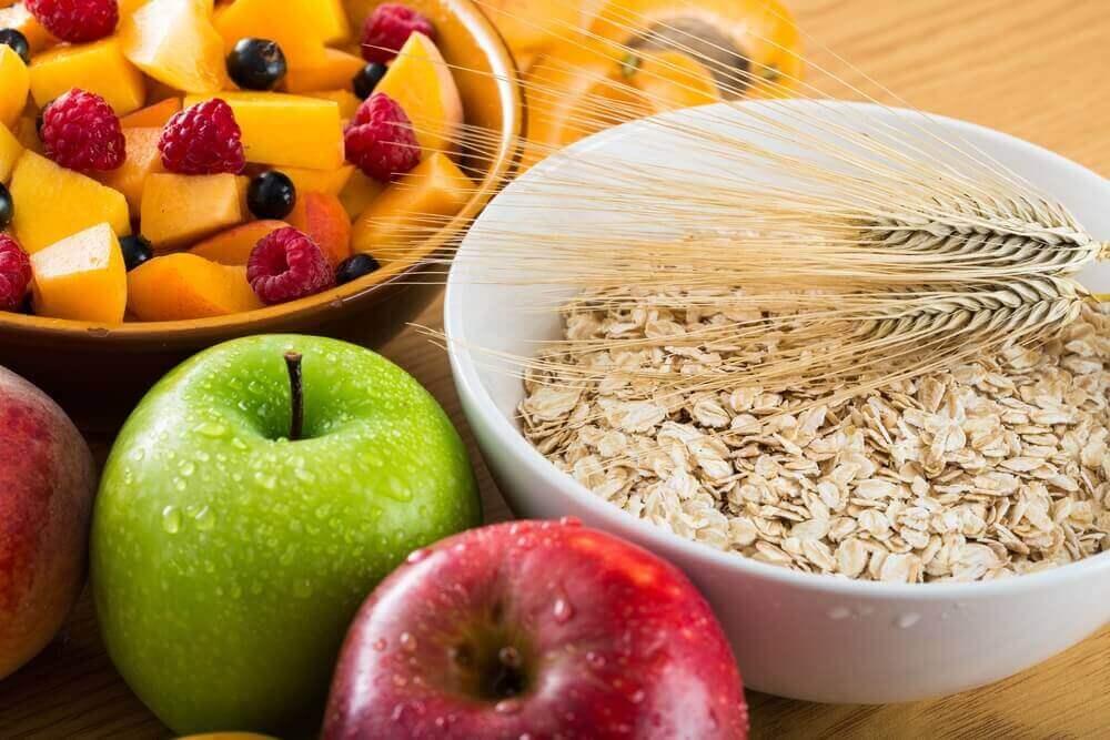βρώμη και φρούτα- επίπεδα του σιδήρου