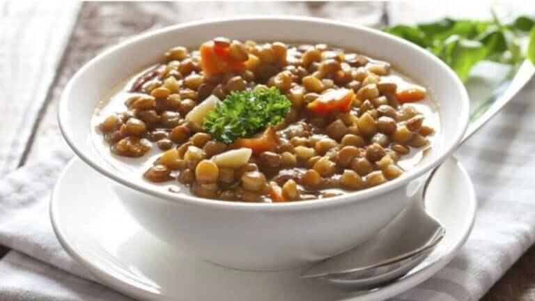 σούπα από φακές Θεραπείες για τη διαβρεκίτιδα