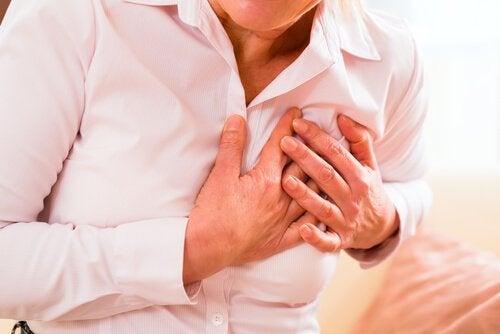 Συμπτώματα της καρδιακής προσβολής
