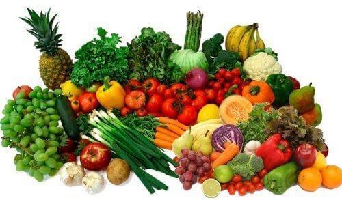 Βιταμίνες για υγιές δέρμα - Λαχανικά και φρούτα