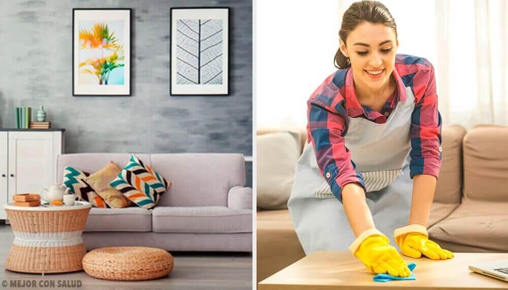 5 συνήθειες καθαρισμού για να κρατάτε το σπίτι σας τακτοποιημένο