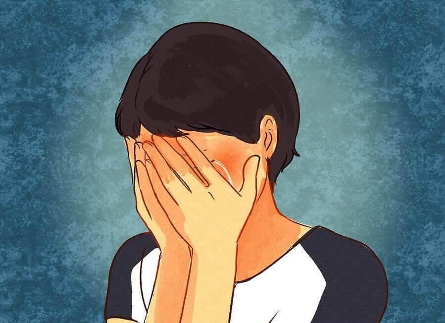 Πώς είναι να έχει κανείς διπολική διαταραχή - Άτομο που κλαίει