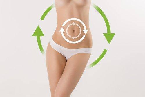 γυναικείο κορμί που χάνει κιλά