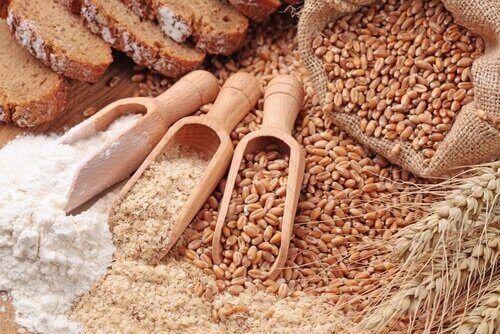 φυτικές ίνες- δημητριακα και σιταρι
