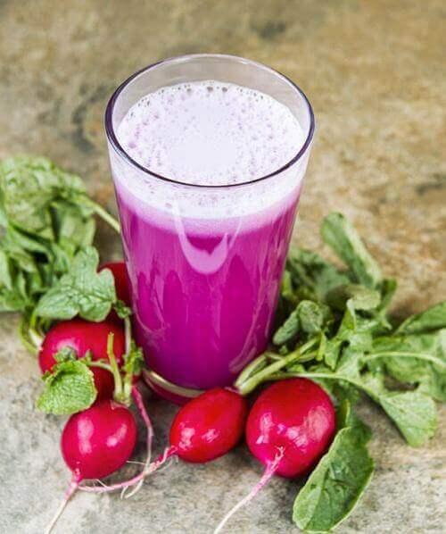 Αντιμετώπιση της λιπώδους διήθησης ήπατος - Ραπανάκια και χυμός από ραπανάκια