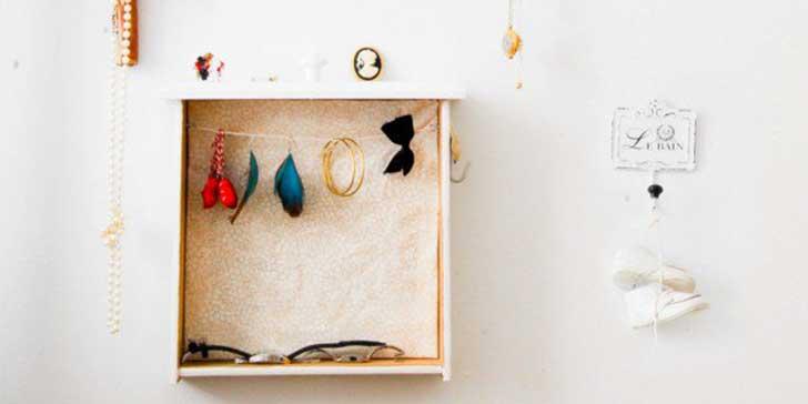 Κατασκευές με κουτιά για τη φύλαξη κοσμημάτων