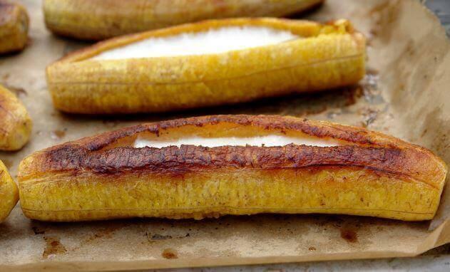 ψητές μπανάνες