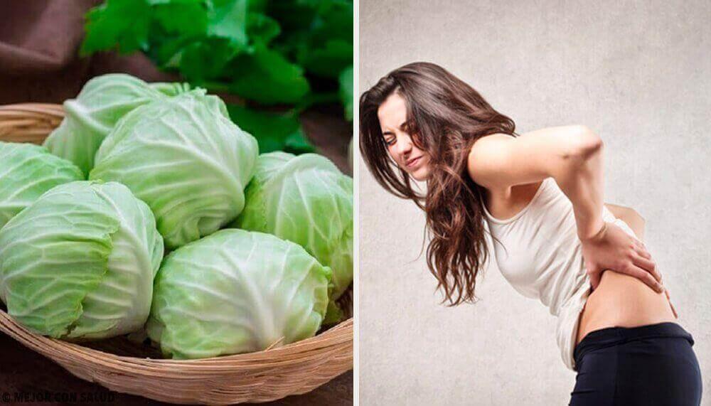 Θεραπεία για να μειώσετε τις κήλες με πηλό, ξύδι και φύλλα λάχανου