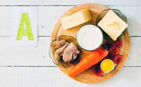 Βιταμίνη Α καρότα τυρια πιπερίες