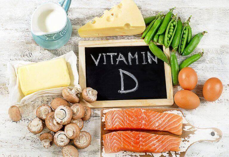 τρόφιμα για βιταμίνη ντε