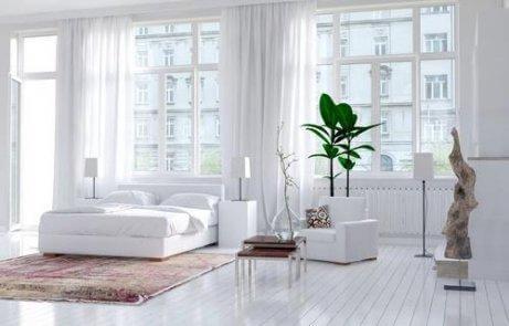 έχετε στο υπνοδωμάτιο παράθυρο λευκό