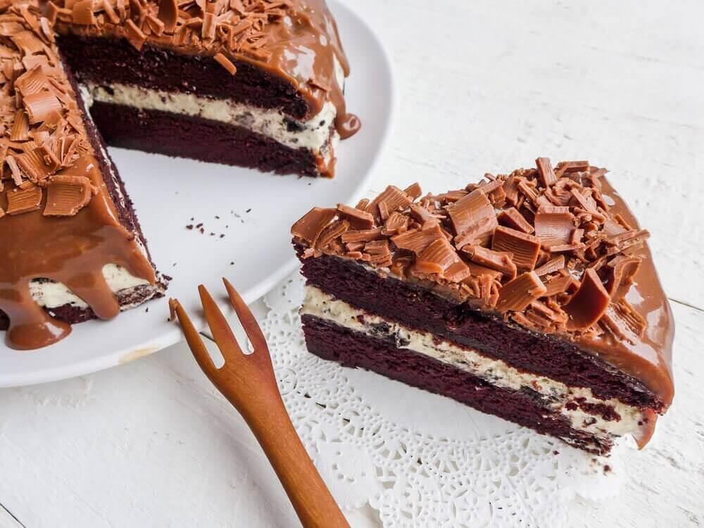 τέλεια επιδόρπια τούρτα σοκολάτα