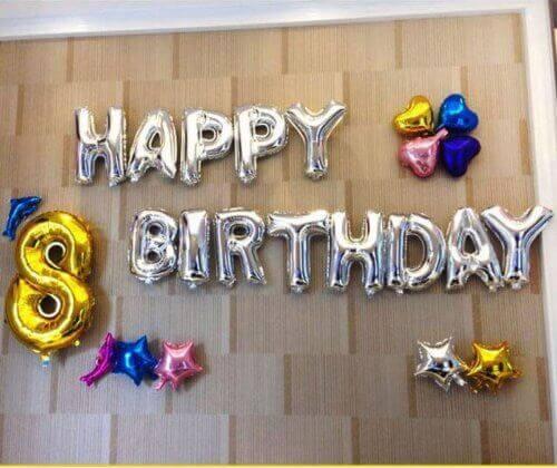 φουσκωτά γράμματα μπαλόνια