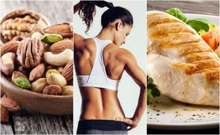 Μια αποτελεσματική διατροφή για την τόνωση των μυών σας