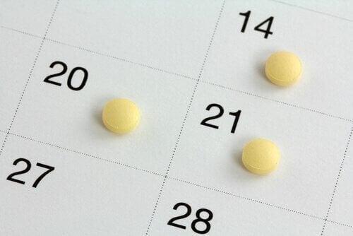 χάπια σε μέρες της εβδομάδας