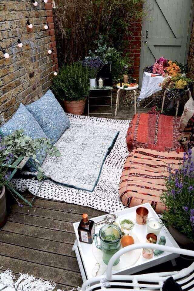 Μικροί αστικοί κήποι - Μαξιλάρια και ριχτάρια