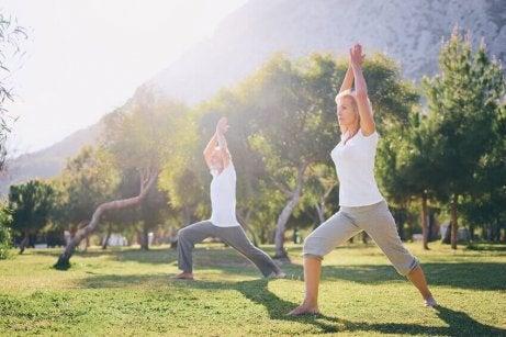 ασκήσεις για ηλικιωμένους - γιογκα