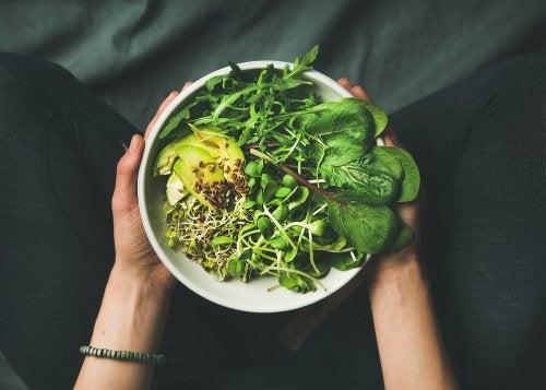 Κορεάτικη διατροφή:  λαχανικά