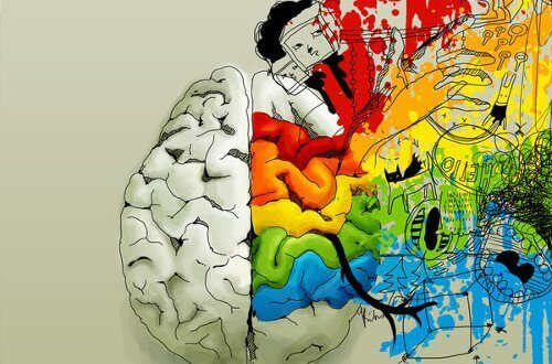 Αρνητικές σκέψεις - Πίνακας ζωγραφικής