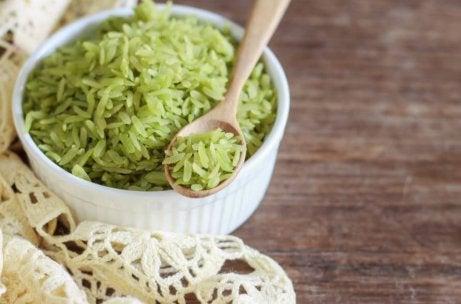 Δοκιμάστε αυτή τη νόστιμη συνταγή για πράσινο ρύζι
