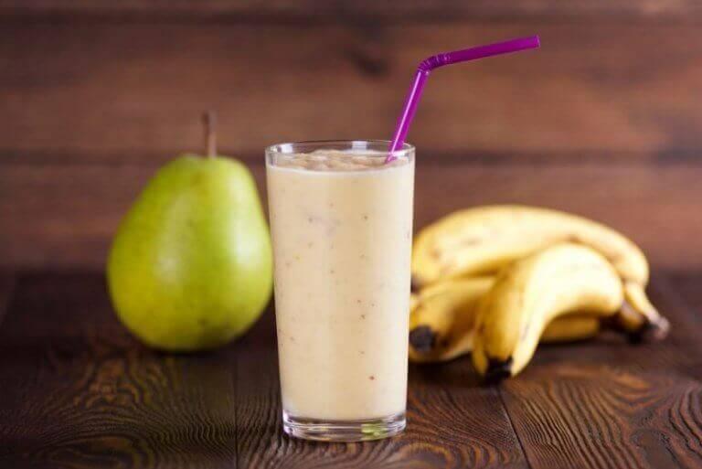 Σμούθι, αχλάδια και μπανάνες