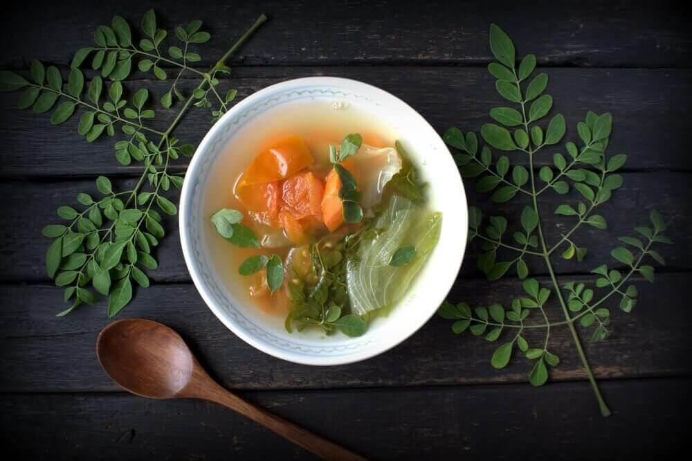 Γρήγορα δείπνα - Σούπα με λαχανικά