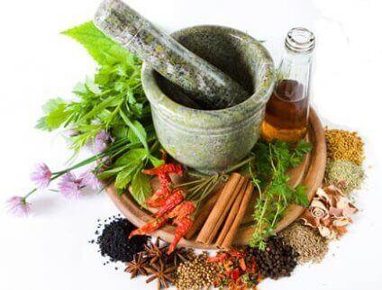 αντιμετώπιση της χαλίτωσης Μπαχαρικά και βότανα