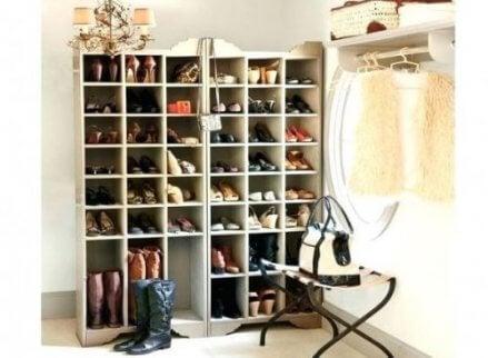 Έξυπνες ιδέες για να φτιάξετε την τέλεια παπουτσοθήκη