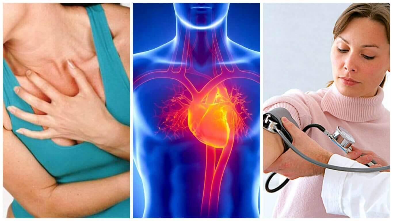 Τροφές για να ελεγχθεί η υπέρταση - Πόνος στο στήθος, καρδιά και πίεση