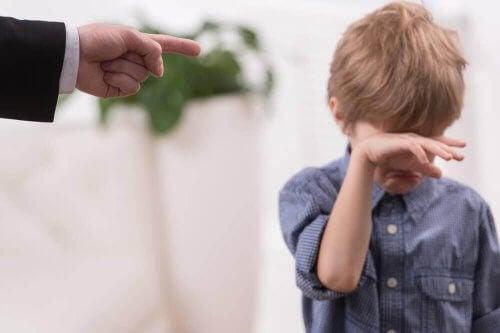 Τιμωρία των παιδιών