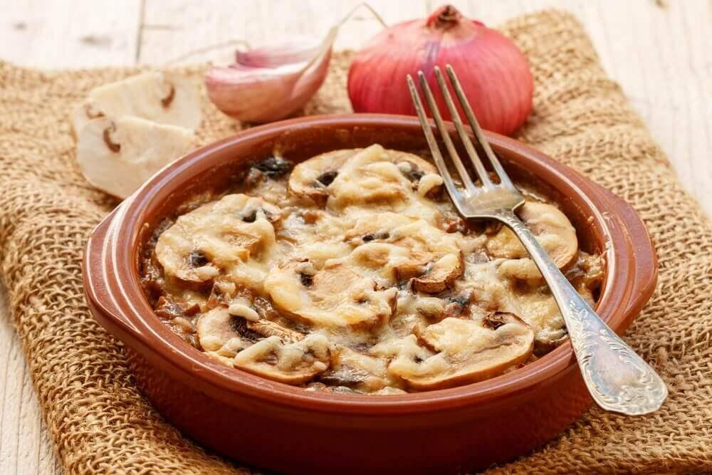 Συνταγή για πεντανόστιμο στιφάδο μανιταριών