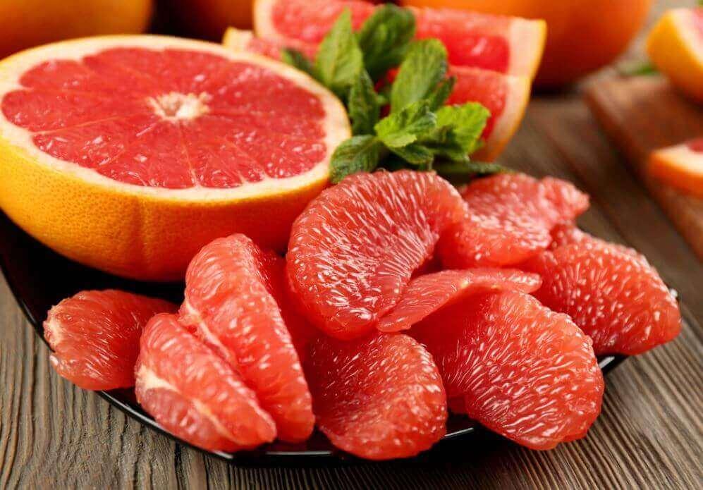τροφές που καίνε λίπος, γκρέιπφρουτ