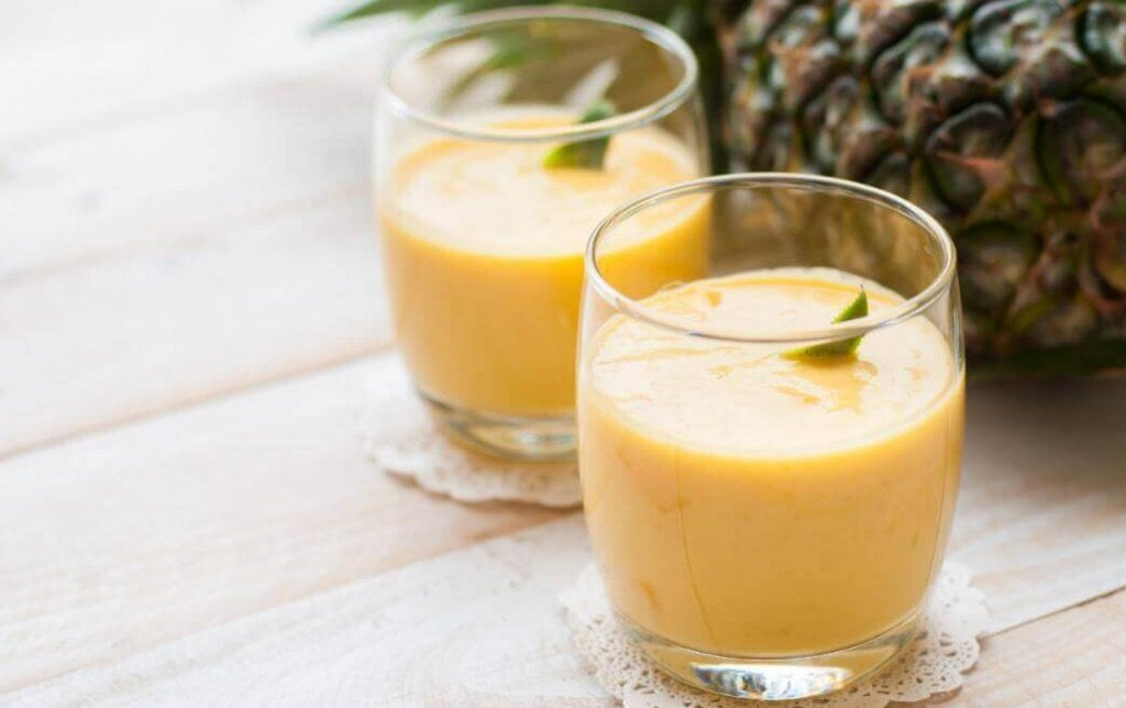 παπάγια και ανανά