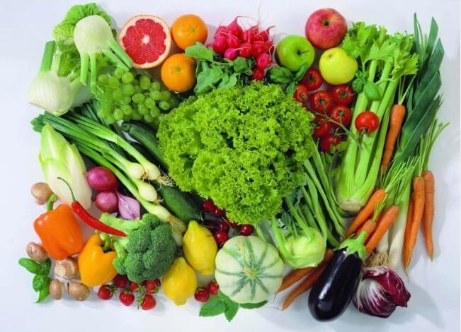 δίαιτα και λαχανικά