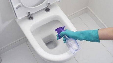 Καθαρίζετε με λευκό ξίδι - Καθαρισμός λεκάνης τουαλέτας