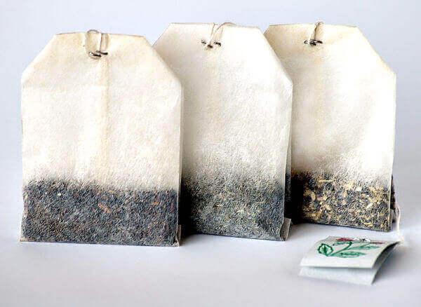 σακουλάκια για τσάι, τσιμπήματα εντόμων