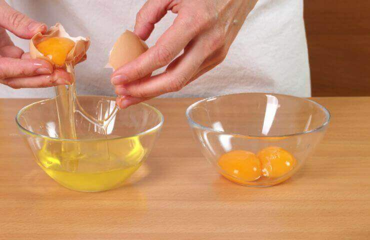 ασπράδι αβγού για την καταπολέμηση των ραγάδων