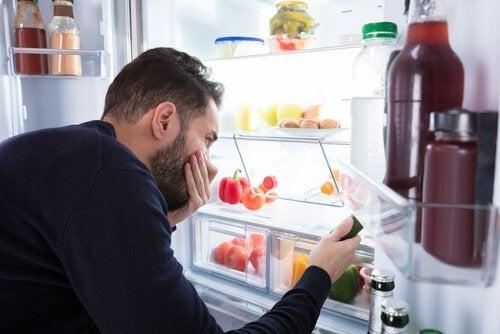 κακή οσμή ψυγείου