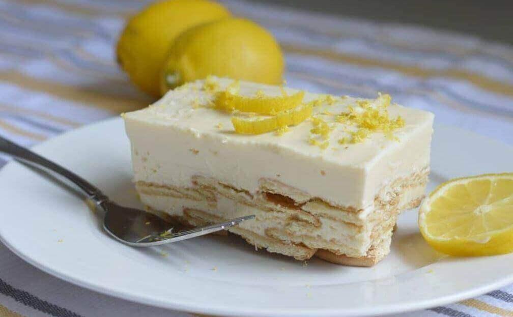 τάρτα με κρέμα λεμόνι