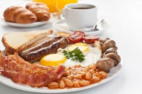 πρωινό με πρωτεΐνες