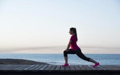 μύες των ποδιών και ασκήσεις στη θάλασσα