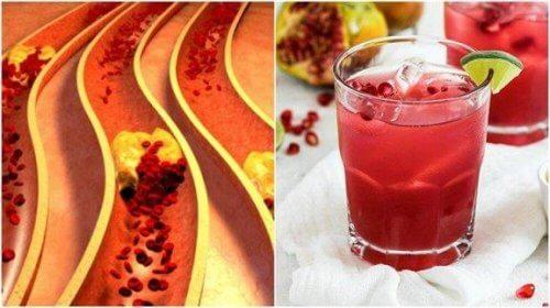 τροφές για να καθαρίσετε τις αρτηρίες