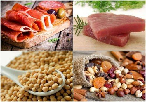 Κρέας, όσπρια και ξηροί καρποί
