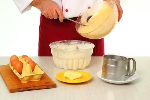Παρασκευή κρέμας ζαχαροπλαστικής